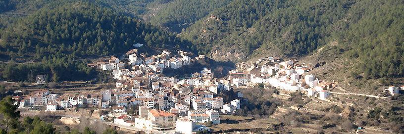 Montán, Castellón. Panorámica.