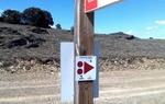 Respeta la señalización que te encuentres: dañar, tirar o cambiar una señal significa que los que vayan detrás de ti podrían perderse / ALC.