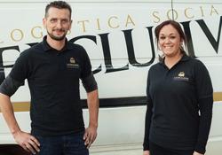Victoria Tortosa y Hugo Núñez, responsables de La Exclusiva