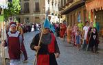 La Asociación Cidiana Tierra de Pinares en uno de sus últimos recorridos por el Camino del Cid