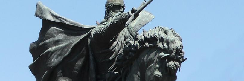 Estatua del Cid, Burgos.