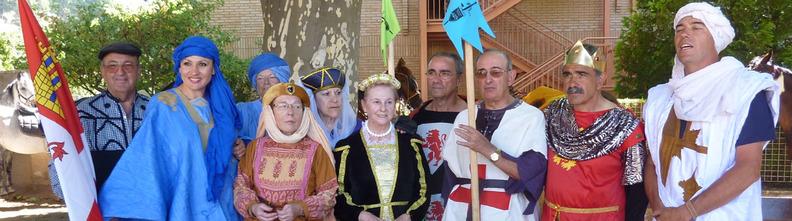 Algunos de los miembros de la Asociación Cidiana Tierra de Pinares de Quintanar de la Sierra, Burgos