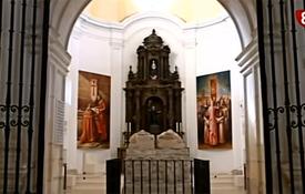 Una imagen del Monasterio de San Pedro de Cardeña del programa Paseos por la provinciaque emite La 8 Burgos