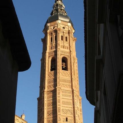 Torre Mudéjar de Santa María, Patrimonio de la Humanidad en Calatayud, Zaragoza / ALC.