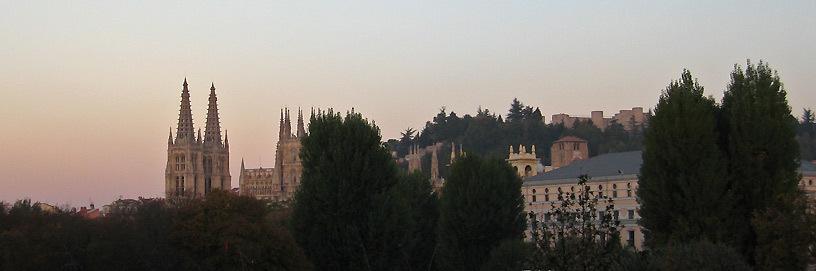 Panorámica del Burgos antiguo.