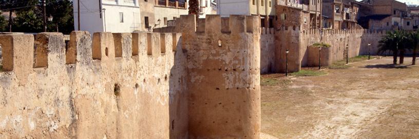 Murallas de Alzira, Valencia.