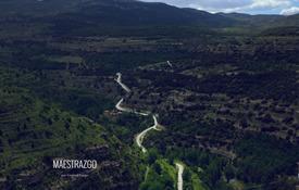 El barranco del Ojal visto desde Cantavieja / Gontzal Largo