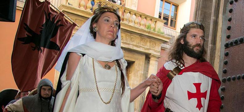 Imagen de una de las últimas ediciones de Las Alfonsadas. Este año se celebrarán del 21 al 24 de junio