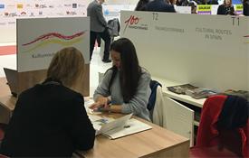 `Rutas Culturales de España´ asiste a la ITB de Berlín
