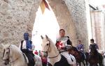 Un momento del desfile del Mercado Medieval de Segorbe