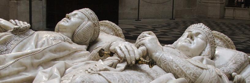 Detalle de las sepulturas de los Condestables en la catedral de Burgos.
