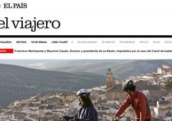 Información sobre las diez mejores rutas en bici de España que publica El Viajero del periódico El País