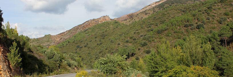 Alrededores de Montán, Castellón.