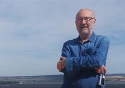 El autor en Navapalos, provincia de Soria