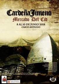 El Mercado Medieval del Cid de Cardeñajimeno (Burgos) tendrá lugar entre los días 8 y 10 de junio