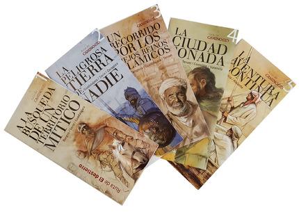 La nueva serie de folletos mantiene las portadas antiguas