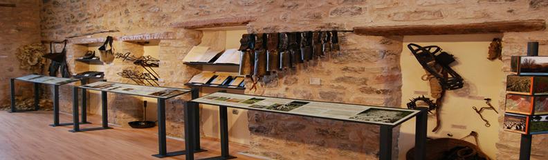 Imagen del interior del Museo de la ganadería tradicional en el Alto Tajo de Checa