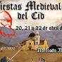 Cartel de las Fiestas Medievales del Cid (Imagen: Visit Monforte)