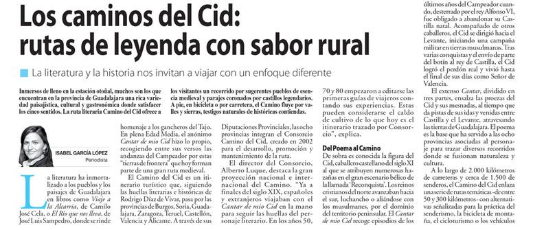 Inicio del reportaje ganador, firmado por la periodista Isabel García