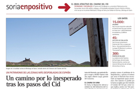 El periódico Soria Noticias recorre el Camino del Cid