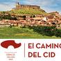 Portada del folleto del Camino del Cid a su paso por Guadalajara editado por Turismo Castilla-La Mancha