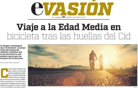 Reportaje del periódico El Economista dedicado a la ruta cicloturista del Destierro del Camino del Cid
