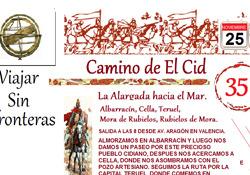 """La Agencia de Viajes """"Viajar Sin Fronteras"""" ha incorporado a su oferta el Camino del Cid"""
