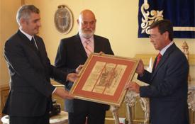 Acto de entrega del II Premio Álvar Fáñez