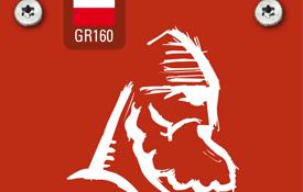Placa de la señalización senderista del Camino del Cid