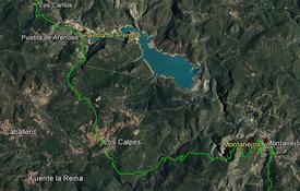 El formato KMZ permite visualizar los tracks en la aplicación Google Earth.