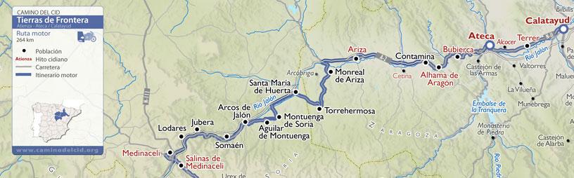 Cabecera mapa Motor Tierras de Frontera