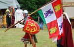 Marco en uno de los eventos medievales europeos en los que participa