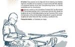 Detalle y contenidos del folleto del Camino del Cid.