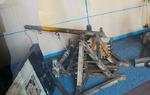Reproducciones de alguna de las máquinas que se exhiben en Trebuchet Park