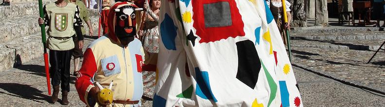 Uno de los momentos del Festival Medieval de Hita, en Guadalajara