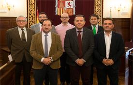 Representantes provinciales asistentes al Consejo Rector