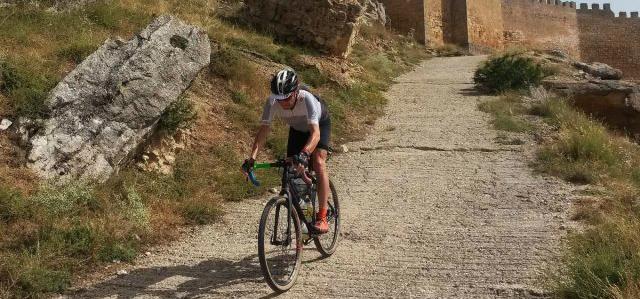Timo Rokitta en el Camino del Cid