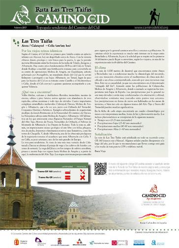 Topoguía Senderista Ruta Las Tres Taifas