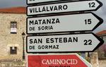 Señales de carretera: indican dirección y próximo pueblo en ruta / ALC.