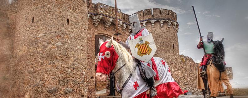 La Feria Medieval de Onda (Castellón) se celebra en el interior del castillo de la localidad (Foto: Tourist Info Onda)