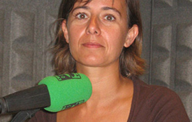 Raquel Sánchez, conductora del programa La Mirilla de Onda Cero