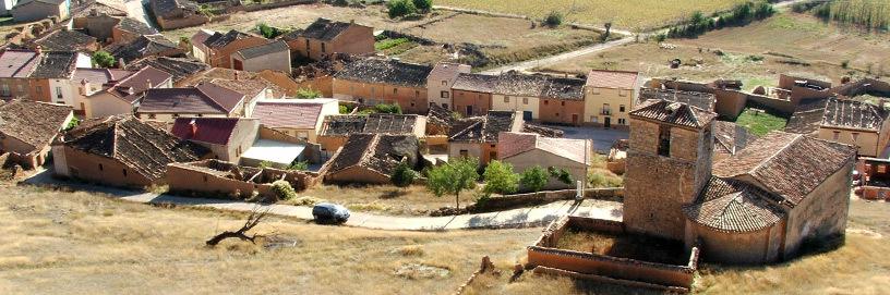 Vista de Aguilera, Soria.