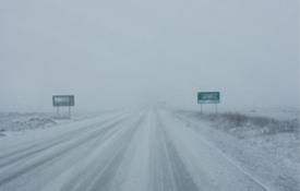 Carretera A-1512, en febrero de 2016
