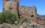 Castillo de Torres Torres, en Valencia. En 1088 el Cid pernoctó aquí con un poderoso ejército, camino de Valencia / ALC.