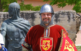 Marco Gassarino en Vivar del Cid, Burgos