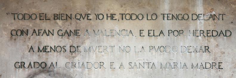 Valencia fue el gran objetivo del Cid